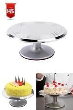 Revolving Cake Stand Decorating Rotating Aluminium Cake Ateco Alloy Party Gadget