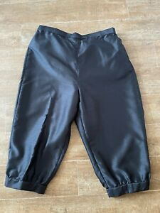 L Men Pirate Pants black knickers Renaissance Medieval costume adult unisex