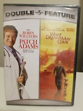 Patch Adams/What Dreams May Come Double Feature (Dvd, 2007) Robin Williams