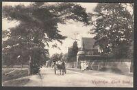 Postcard Weybridge Surrey early view of Heath Road