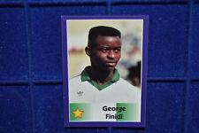GEORGE FINIDI Ajax Betis Mallorca Nigeria National Team World Cup 1998 Sticker
