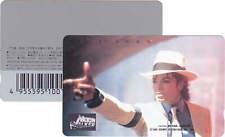 Michael Jackson Carte Telephone Phonecard MOONWALKER Phone Card JAPAN 1988
