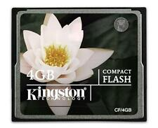 4GB CompactFlash I Camera Memory Card