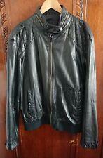 Zara Man Real Leather Jacket Size EUR XXL