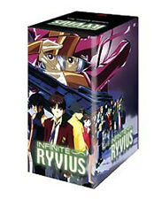 Infinite Ryvius Original USA Version Anime DVD Complete 1,2,3,4,5,6 with Art Box