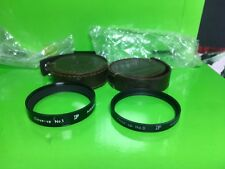 Pair of Original NIKON F filters Close-up 0 and  close-up 1 with case  ~ Great!!
