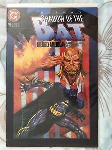 Batman Shadow of the Bat #6 DC Comics November 1992 The Ugly American FP