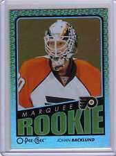 JOHAN BACKLUND GOLD RAINBOW 09/10 OPC O-Pee-Chee #769 ROOKIE Hockey Card Insert
