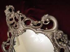 Wall Mirror Oval Antique Silver Altsiber Bathroom 50X76 Baroque