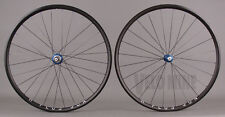 Black H + Plus Son Archetype Rims White Industries T11 Hubs Road Bike Wheelset