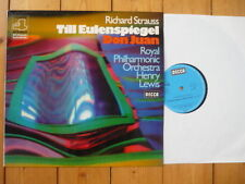 Strauss Till Eulenspiegel / Don Juan Henry Lewis Royal Philharmonic Orchestra LP