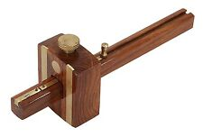 """CT0333 8"""" 205mm Quality Carpenters Heavy Duty Mortise Marking Gauge Brass Inlay"""