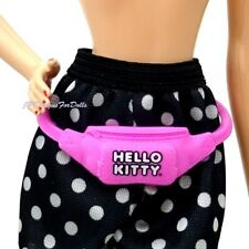 Barbie Fashionistas Hello Kitty Pink New Waist Pouch Fanny Pack