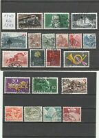 Lot Briefmarken Schweiz 1940-1949 gestempelt 20Stk. Helvetia