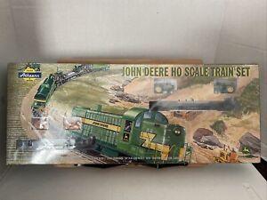 Athearn HO Scale 2007 John Deere Electric Train Set w/ RS3 Diesel - Sealed!