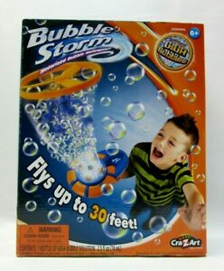 Bubble Storm Motorized Bubble Helicopter  Up To 30 Feet High Ages 6+ New