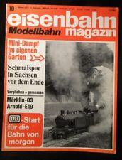 Eisenbahn Magazin Modellbahn 1973 October #10