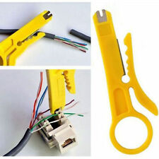 1X Network Connection Wire Punch Down Cutter Stripper For RJ45 Cat5 Cable Tool