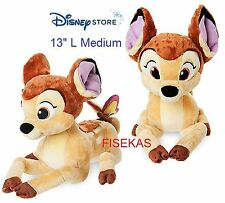 Disney Store Exclusive Plush Bambi with Butterfly Medium 13 in Stuffed 2016 NEW