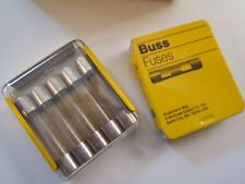 (10) BUSSMANN AGC-4/10 GLASS FUSES.1-1/4 X 1/4 250V. FAST ACTING. NOS NEW.