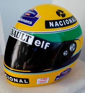 NEW Ayrton Senna 1994 Scale 1:1 Helmet F1 Team McLaren
