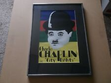 """Charlie Chaplin """"City Lights"""" Art Print, Signed and Numbered by the Artist"""