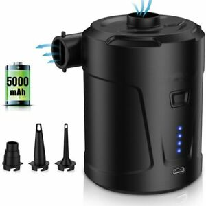 Inflatable Wireless Electric Air Pump 5200mah Built In Power Supply Outdoor Tool