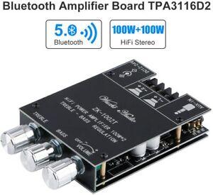 Bluetooth-Verstärkerplatine Hifi Stereo 2.0 TPA3116D2 2X100W Audioverstärker
