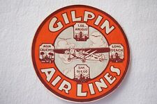 More details for gilpin airlines airline luggage label