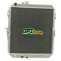4 ROW Aluminum Radiator For Toyota Hilux LN147 LN167 LN172 5L-E 3.0Ltr 1997-05