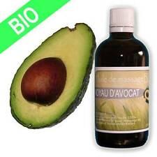 Huile de massage d'Avocat Bio Vierge raffinée 100 ml