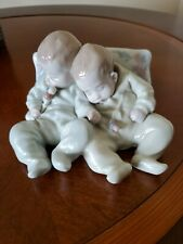 Lladro Twins Porcelain Figurine #5772 Little Dreamers Twin Sleeping Babies