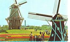 HOLLAND,MICHIGAN-WINDMILL ISLAND-DE ZWAAN AND MINIATURE WINDMILL-(MICH-H*)