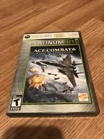 Ace Combat 6 Xbox 360 Cib Game Works Nice XG1