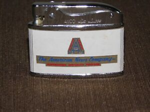 VINTAGE CIGARETTE LIGHTER ANCO DELUXE THE AMERICAN NEWS COMPANY NEW YORK