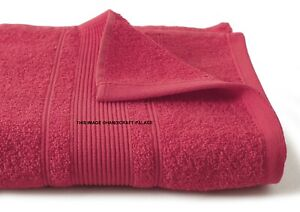 Bath Towels Cotton Towel Pink 28x59 Inches 900 GSM Absorbent Lot Indian Towels