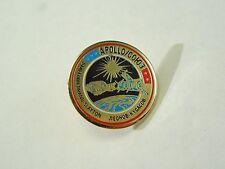 Vintage NASA Apollo-Soyuz Joint US Soviet Mission Commemorative Enamel Pin
