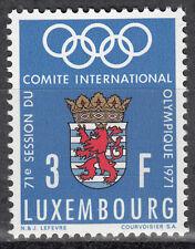 Luxembourg / Luxemburg 826** Intern. Sitzung des IOC