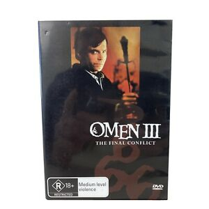 The Omen III The Final Conflict R4 DVD VGC + Free Postage