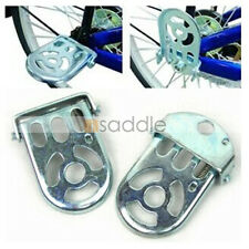 Cycling Accessory Bicycle Rear Seat The Pedals Bike Folding Pedal (2PCS/Pair)