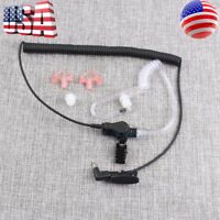 2.5mm Earpiece Headset W/ Coiled Tube For Harris Police Radio XG25 XG75 P7300 US