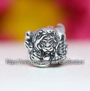 Authentic Pandora SAFARI Lion Zebra Elephant Sterling Silver 791360 Charm