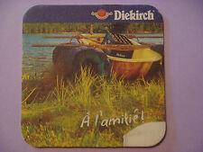 Beer Coaster ~*~ Diekirch Brewing Grand Reserve Premium ~ Luxembourg ~ Beer Raft