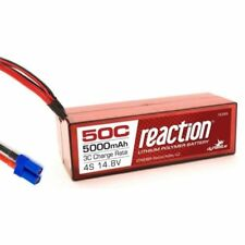 Dynamite Reaction 14.8v 5000mah 4S 50c Hardcase Lipo Battery EC5 Losi Proboat