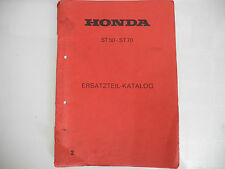 Teilebuch partsbook Honda dax50 70 st50 st70 d'occasion used