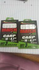 Maver Match Ce Crochets Pour Nylon-MT 5-Power Carpe