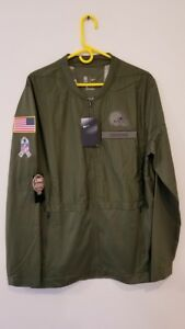 CLEVELAND BROWNS Nike 2018 Salute to Service Hybrid Jacket MENS LARGE LAST ONE !