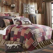 VHC Wyatt Quilt Bedspread Coverlet California King Queen Twin Rustic Patchwork