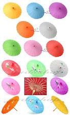 Asia Schirm Dekoschirm Fengshui Stoff Bambus mehr Farben