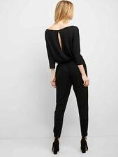 Gap Black Soft Half Sleeve Jumpsuit Small 4 6 S